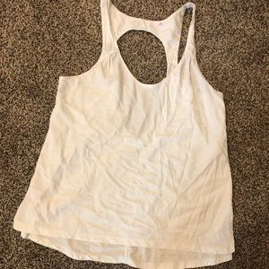 Lululemon: large open back top